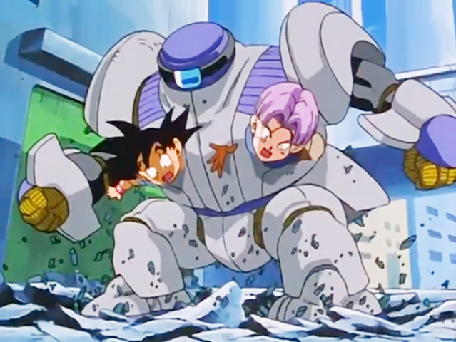 File:4. Bizu captures Goku and Trunks inside his body.png