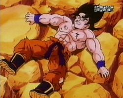 File:Goku hurt by vegeta.jpg