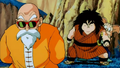 Roshi,Yajirobe and Oolong