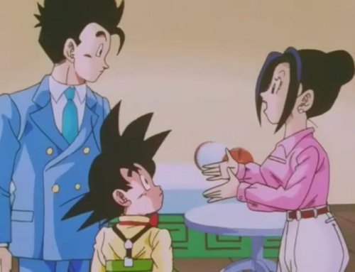 File:Gohan, his brother, and his mom.jpg