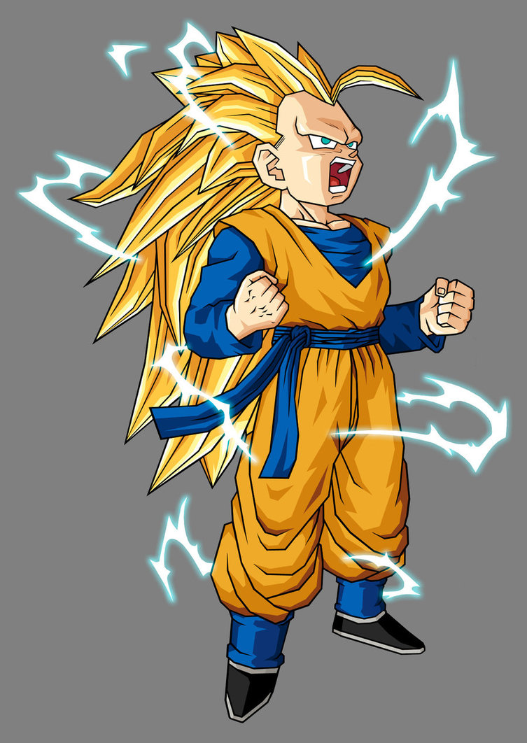 Kid Goten Super Saiyan 3