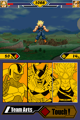 File:Dragon Ball Z - Supersonic Warriors 2 trunks SSJ 1.5.png