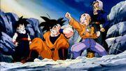 Krillin Sucker Punches Goku 2