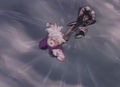Turles about to hit gohan