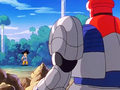 8. Super Mega Cannon Sigma was decieve by Goku