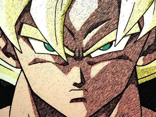 File:Goku meets Cell in the Ring.jpg