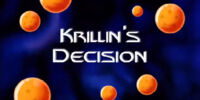 Krillin's Decision