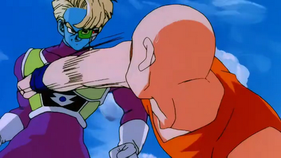 File:Krillin tries to punch Salza.png