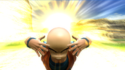 Krillin Solar Flare Zenkai Battle