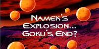 Namek's Explosion... Goku's End?