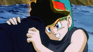 Slug going to read Bulma's mind