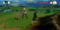 Android 18 dancing the para para boogie