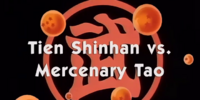 Tien Shinhan vs. Mercenary Tao