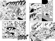 Goku battles the Red Ribbon Army