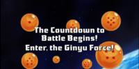 The Countdown to Battle Begins! Enter, The Ginyu Force!