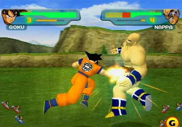File:Goku Nappa Budokai.jpg