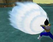 Vegeta firing Final Crash