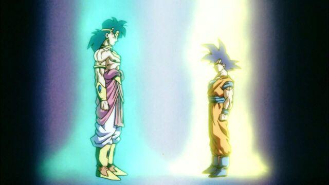 File:Goku & Broly Powering Up.jpg