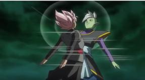 Black and Zamasu fuse.