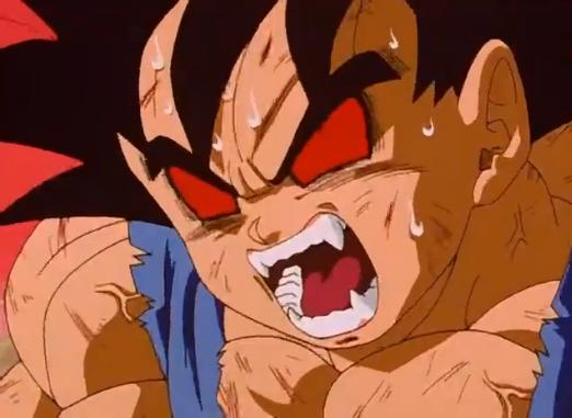 File:Goku beginng to go great ape face.jpg