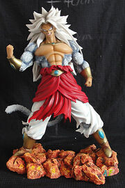SS5Broly ResinModelKit 14inch