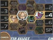DBZSSW2 character select