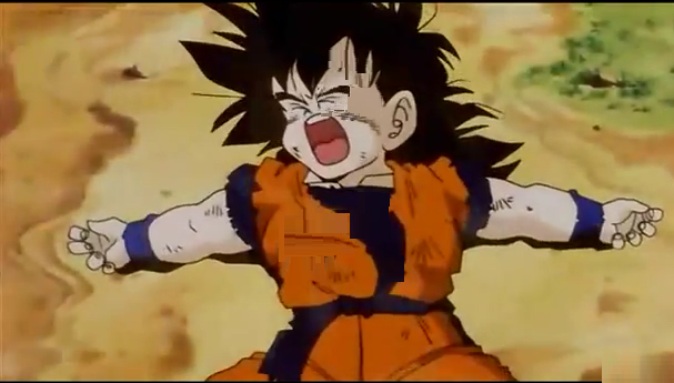File:Gohan beat up on the ground.png