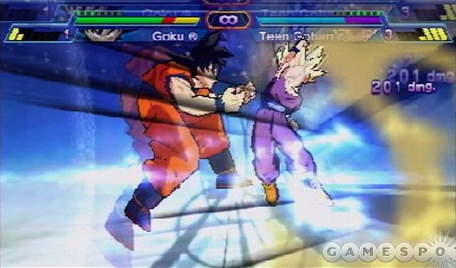 File:Goku fighting Teen Gohan.jpg