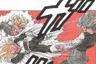-18 swings Vegeta into Trunks
