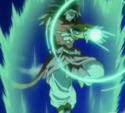 SS4 Broly energy wave