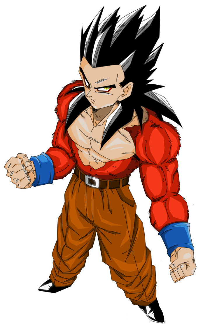 Super saiyan 4 dragon ball blue wiki fandom powered by - Son gohan super saiyan 4 ...
