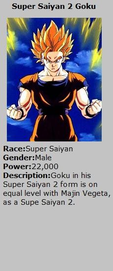 Card Ssj2 Goku