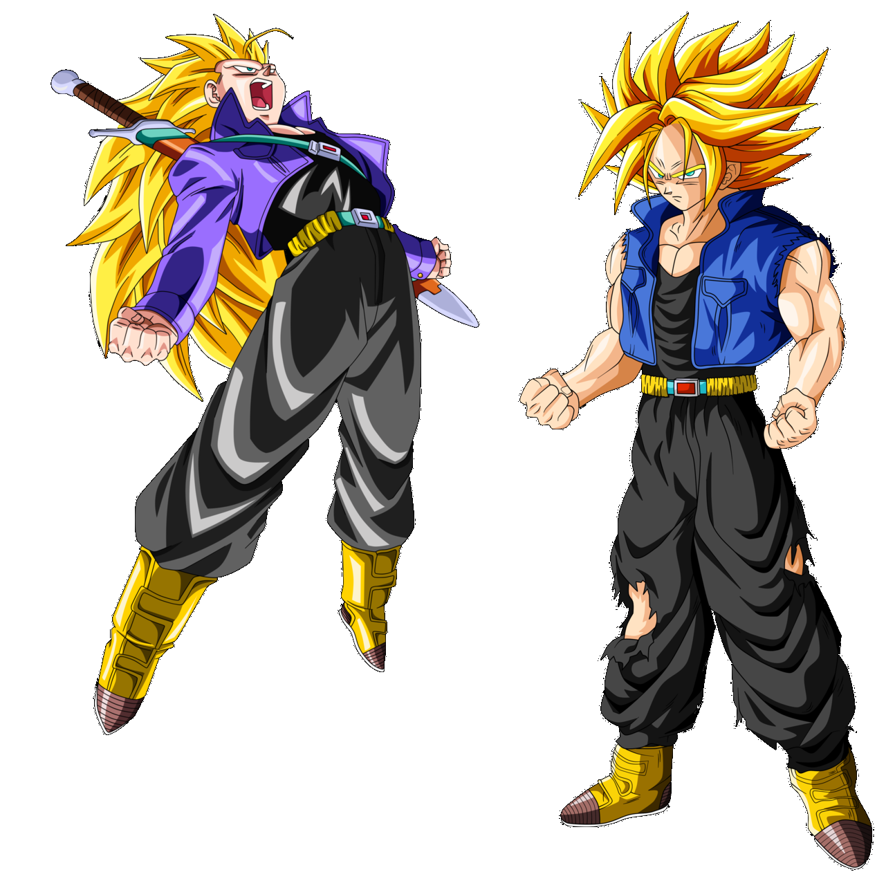 Archivo:Trunks SSJ2 Y SSJ3.png