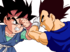 Goku jr vs vegeta jr by zed creations-d3u3mhw