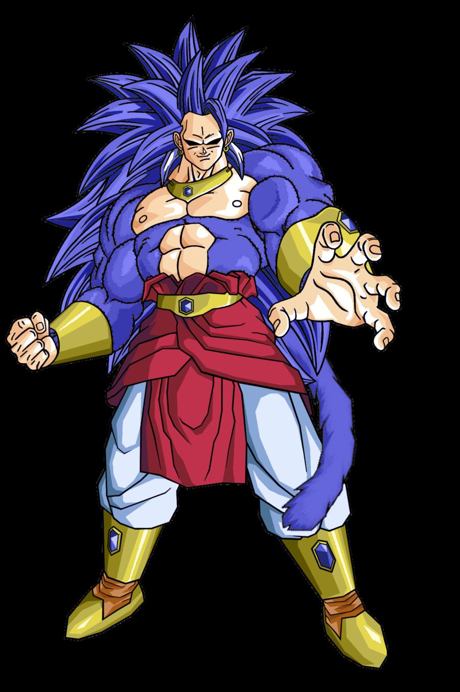 Goku lucha con broly super saiyajin legendario 7 dragon - Dragon ball z baby broly ...