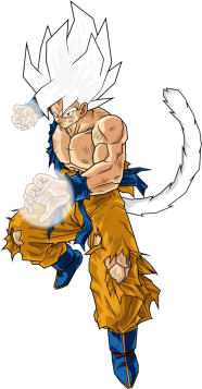 Goku ssj10 by db own universe arts-d37bjh5