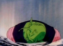 Piccolo on groun dead after being killed by slug