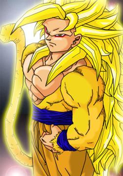 Goku SSJ5 by madziax