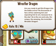 Wrestler Dragon