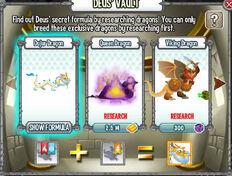 Cripta De Deus-Dragon Dujur Formula En Dragon City