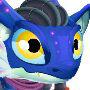 Blue Alien Dragon m1
