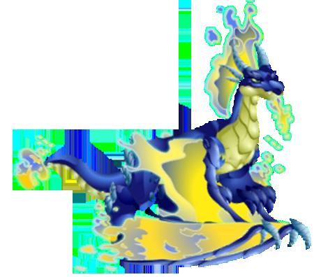 dragon city blue fire