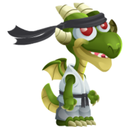 Martial Arts Dragon 1