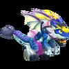 Blue Alien Dragon 2