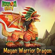 Aztec Warrior Dragon--