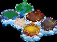 Mobile Islands