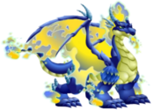 Blue Fire Dragon 3