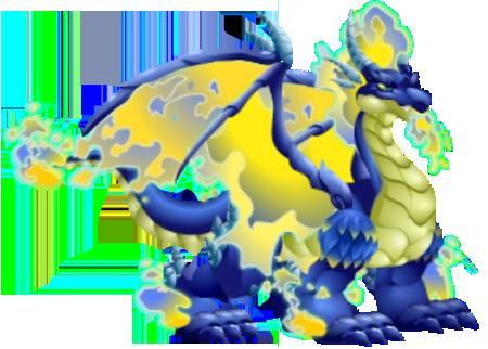 Blue Fire Dragon Blue Fire Dragon 3 Egg