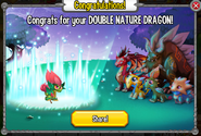 Congratulations Double Nature