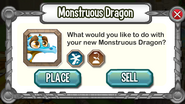 Monstruous Dragon-Panel